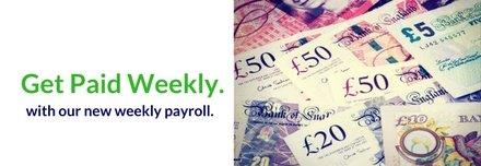 Get Paid Weekly!